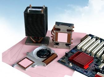 Thermal silicone sheet (thermal pad)